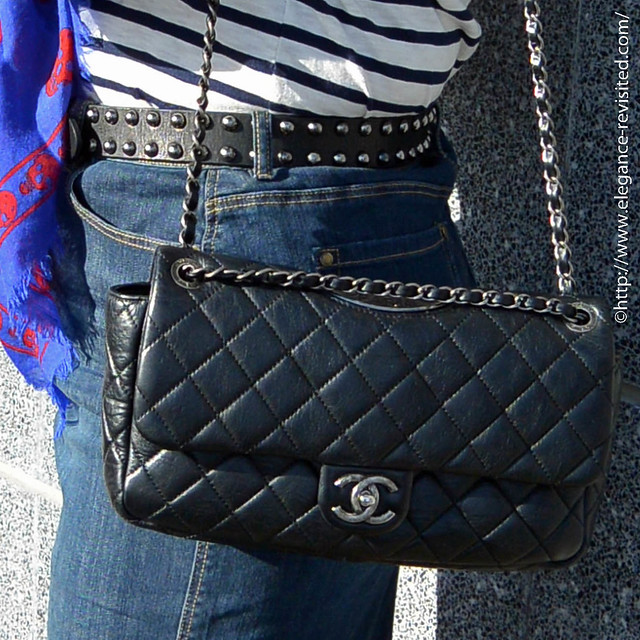 how to style a Chanel bag