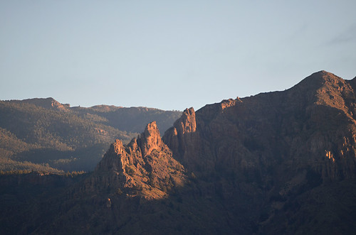 Adeje Mountains at Sunrise, Tenerife