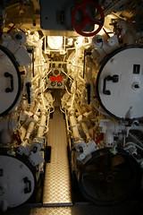 Bugraum mit den vier Torpedorohren