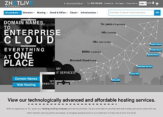 Best Indian Web Hosting by ZNetLive
