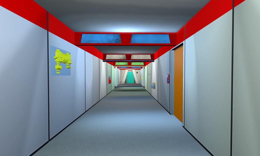 enterprise-e engineering corridor | Eavesdropping with Johnny |Uss Enterprise Corridors