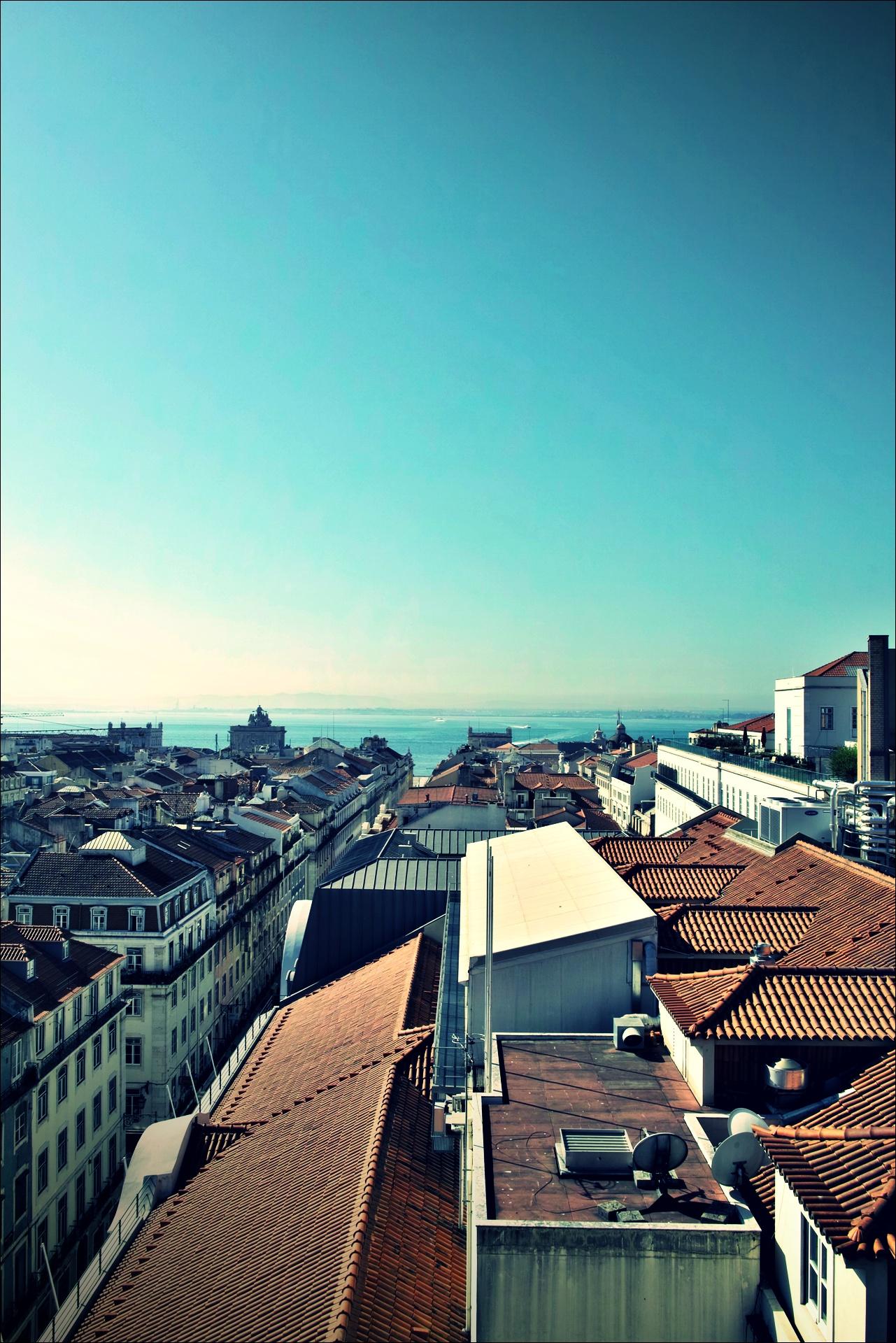 빨간 지붕-'리스본 Lisbon'