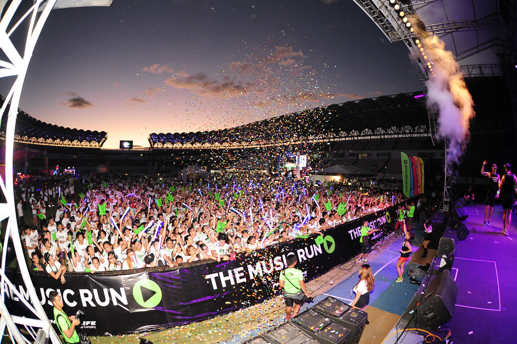 The Music Run by AIA, returns to rock Singapore's shores this April - Alvinology