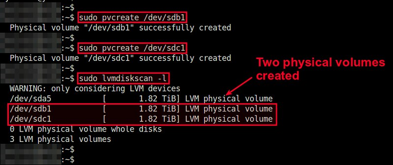 How to add disks to LVM volume on Linux - Ask Xmodulo