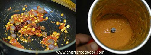 instant pottukadalai sambar recipe