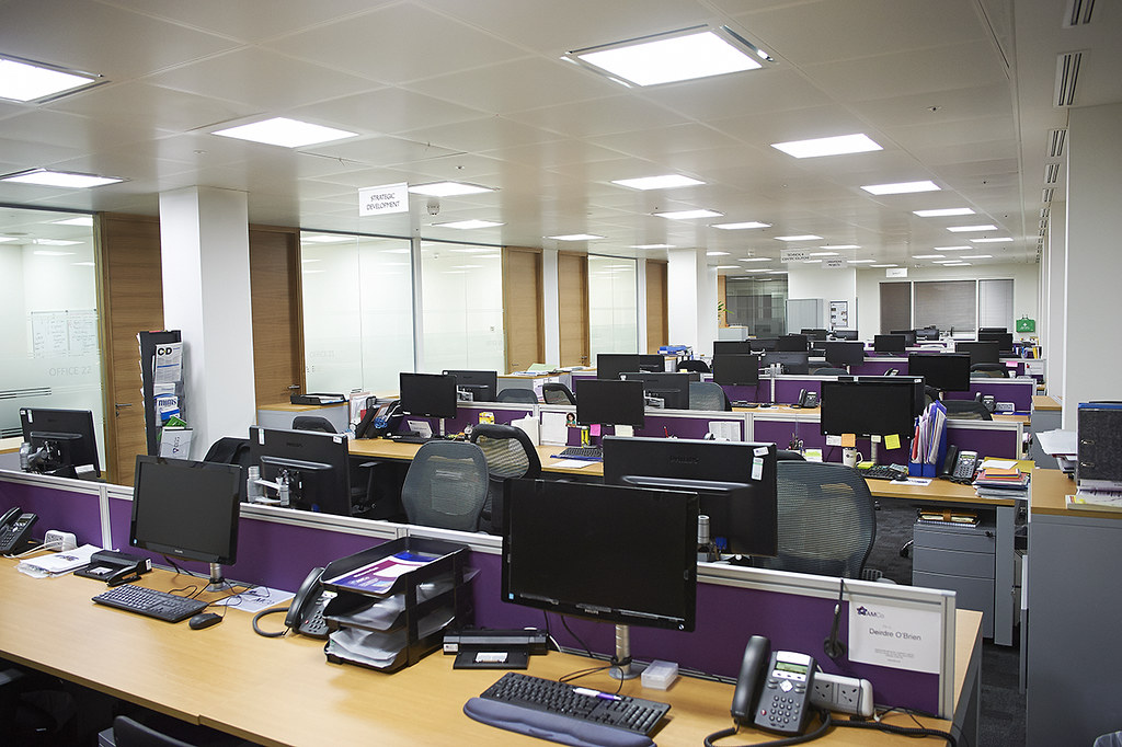 Office relocation central london the move ran for Interior design recruitment agencies london
