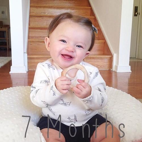 Elle Evergreen: 7 months