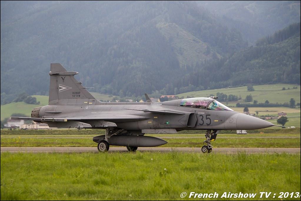 Jas-39 Gripen , Hongrie , Saab JAS 39 Gripen ,AIRPOWER13 , Zeltweg , Austria , airpower 2013 Zeltweg