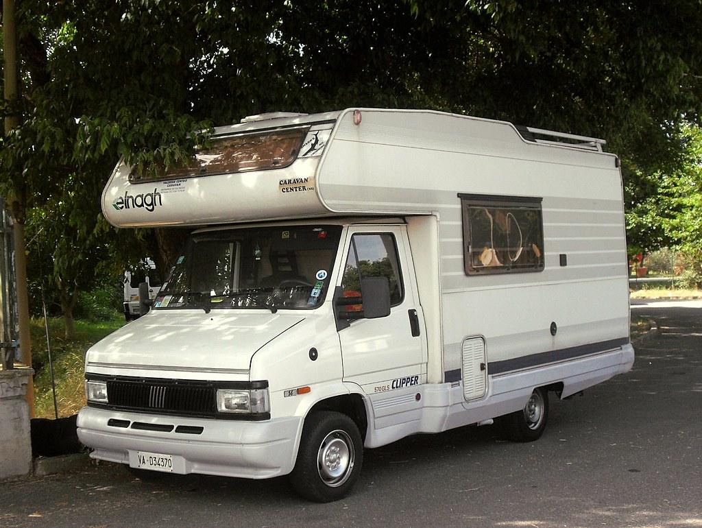 fiat ducato 14 2 5 d 1992 camper elnagh clipper 570 gls. Black Bedroom Furniture Sets. Home Design Ideas