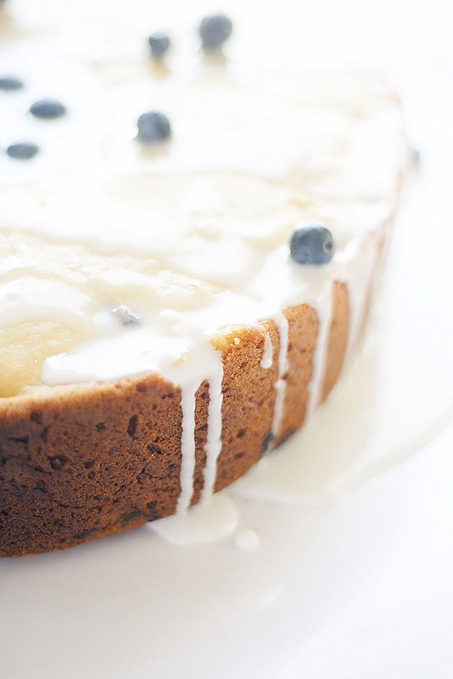 simple slow cooker lemon blueberry bread