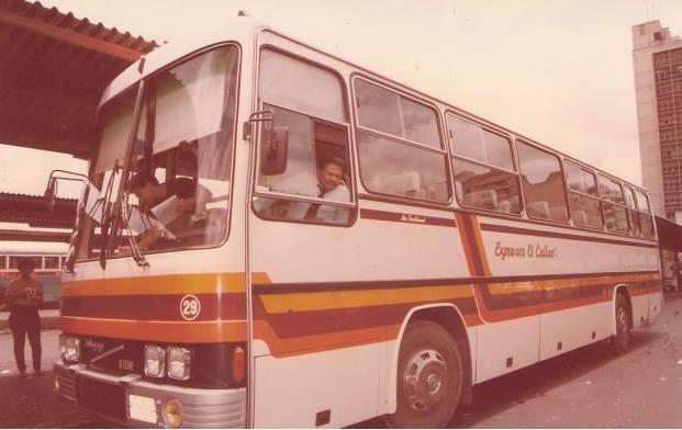 En los años 80: ¿Quién viajo del terminal de SAN FELIX al terminal de la HOYADA EN CARACAS en estos expresos?