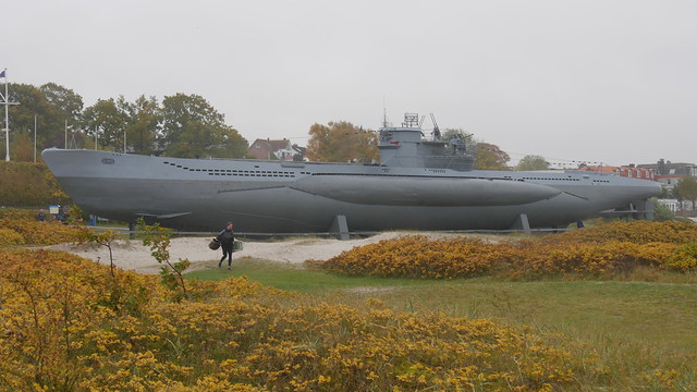 Museums-U-Boot U 995 am Strand von Laboe