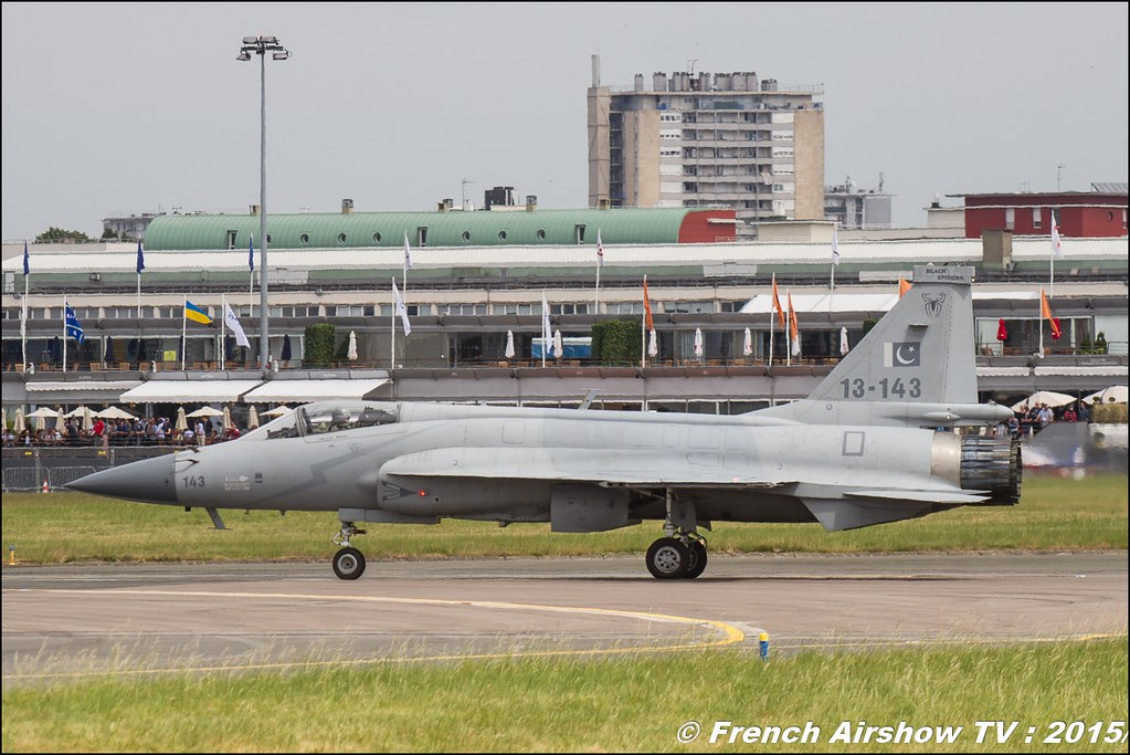 JF-17 Thunder, l'Armée de l'air pakistanaise , Paris Airshow 2015 , Salon du Bourget 2015 ,lebourget, Meeting Aerien 2015