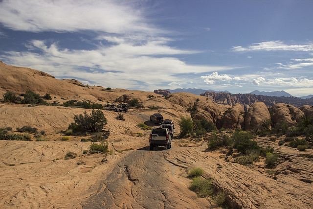 FunTreks on the trail in Utah: Poison Spider Mesa