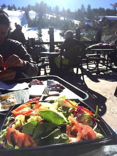 Market salad at Big Bear