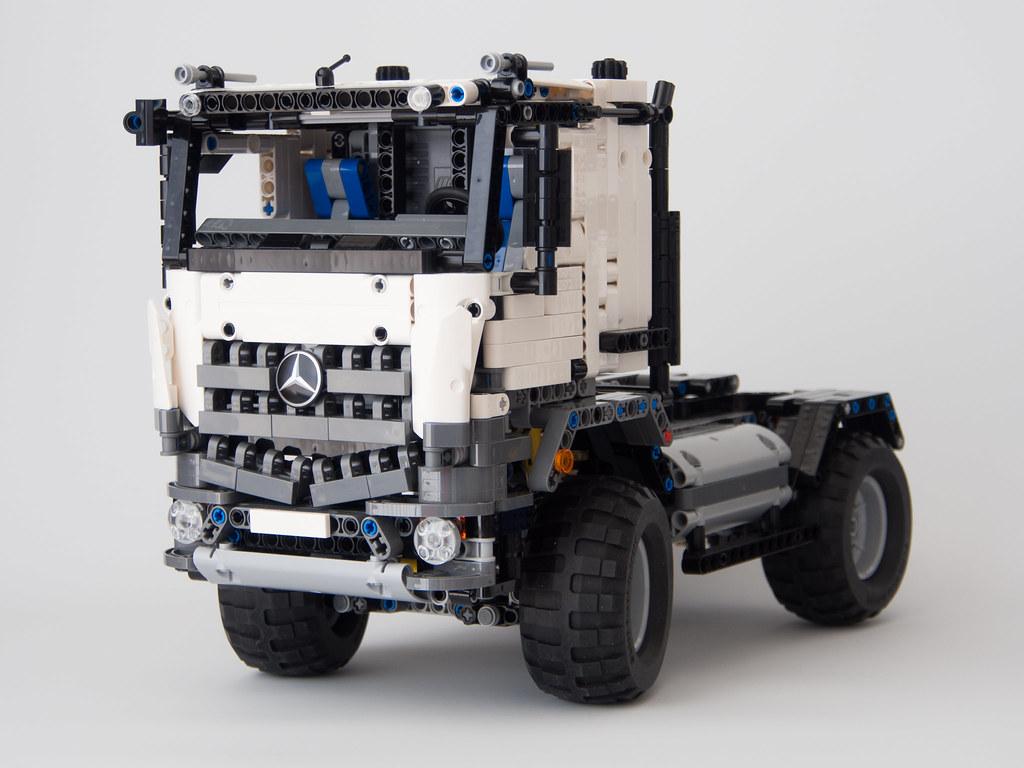 lego technic 42043 mercedes benz arocs b model mod flickr. Black Bedroom Furniture Sets. Home Design Ideas
