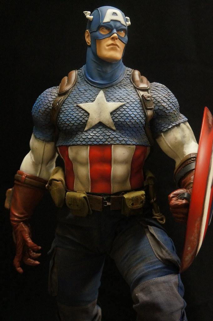 Custom Captain America Premium Format  25416076752_58920b306f_b