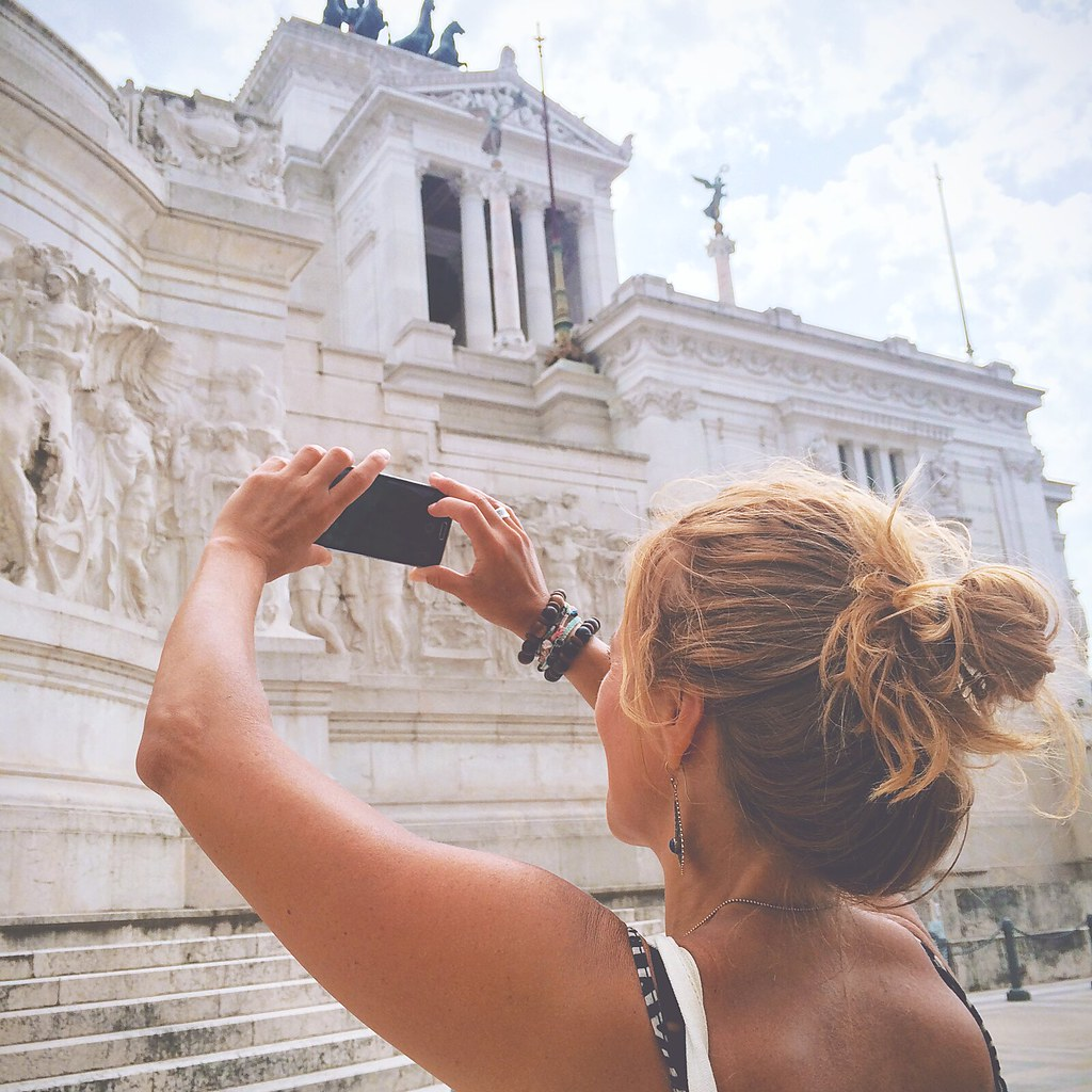Monumento Vittorio Emanuelle II, Rome | via It's Travel O'Clock
