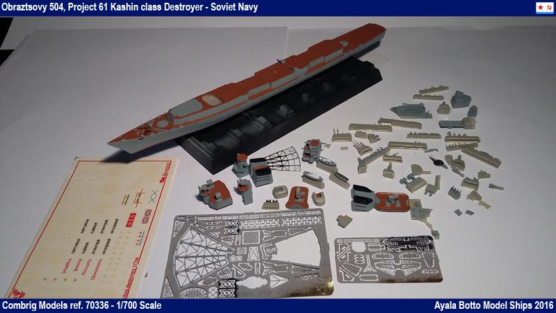 Destroyer Obraztsovy Projet 61 Classe Kashin Combrig 1/700 Marine Soviétique 26155087200_29a7253b01_o
