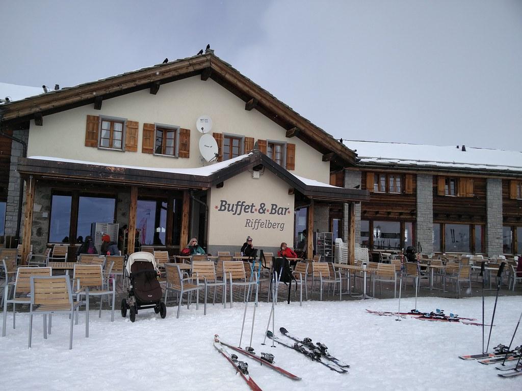 Buffet & Bar at Riffelberg