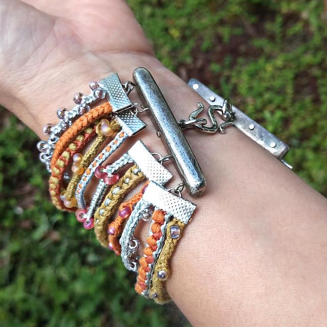Lucet Cord Bracelet