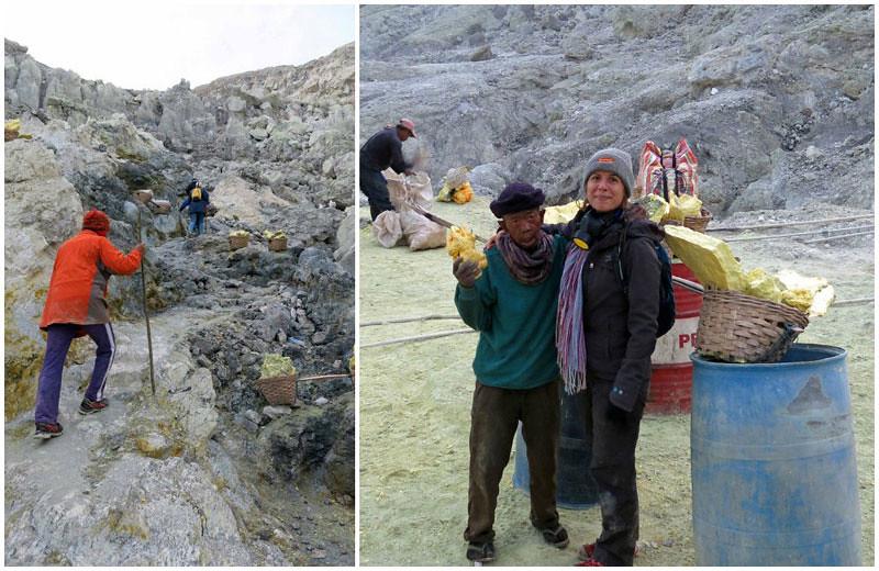 Mount ljen sulphur mining