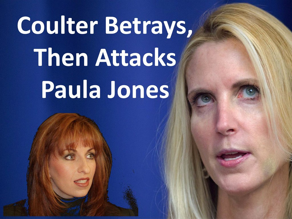 "Betrayal Essay ""Coulter Betrays Then Attacks Paula Jones…"