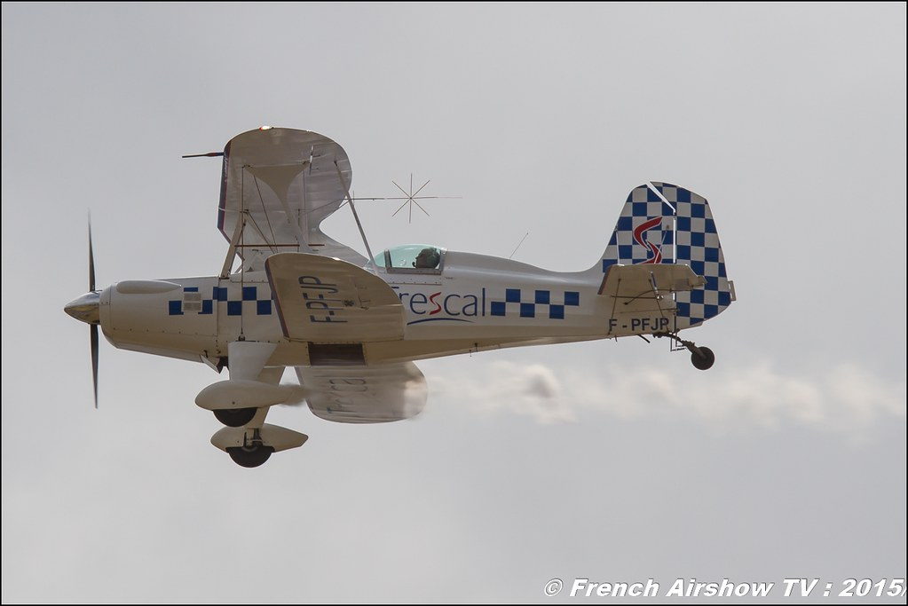Stolp SA300 Starduster Too F-PFJP ,Starduster SA-300 TRESCAL, Paris Airshow 2015 , Salon du Bourget 2015 ,lebourget, Meeting Aerien 2015