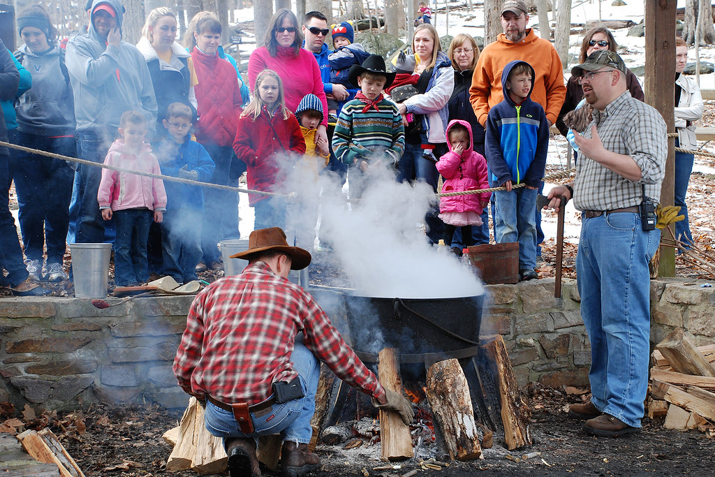 Photo of Maple Syrup Festival by Ranger Mark Spurrier
