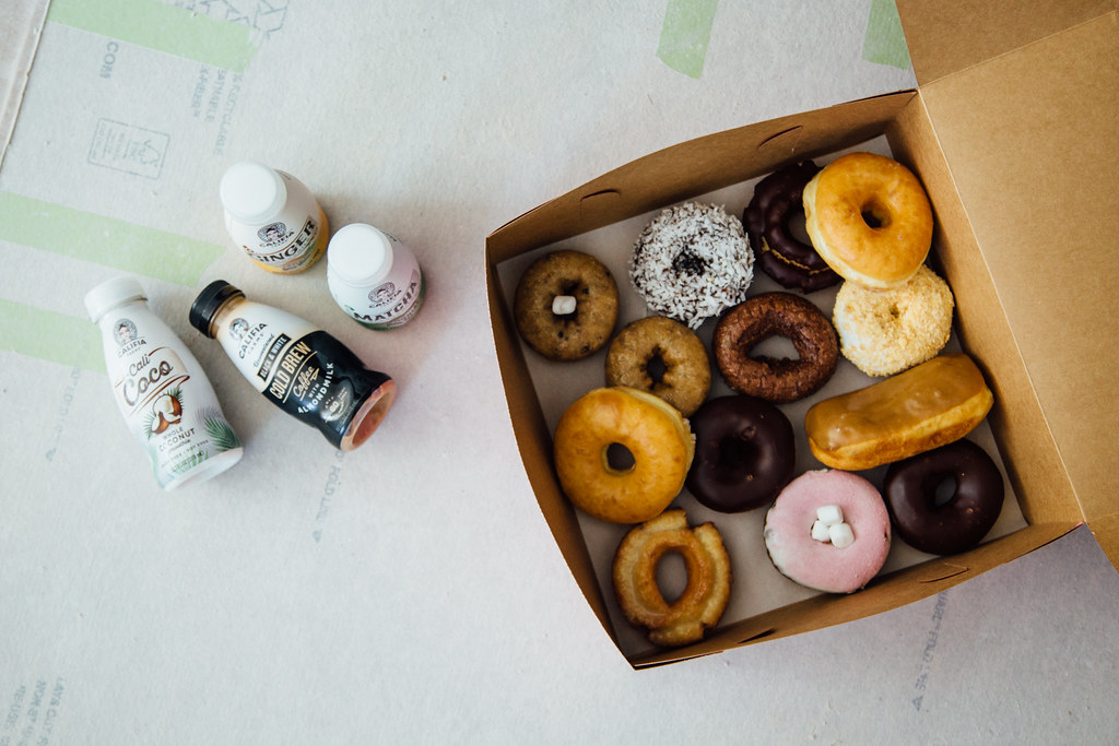 Because doughnuts + caffeine = productive dry wallers