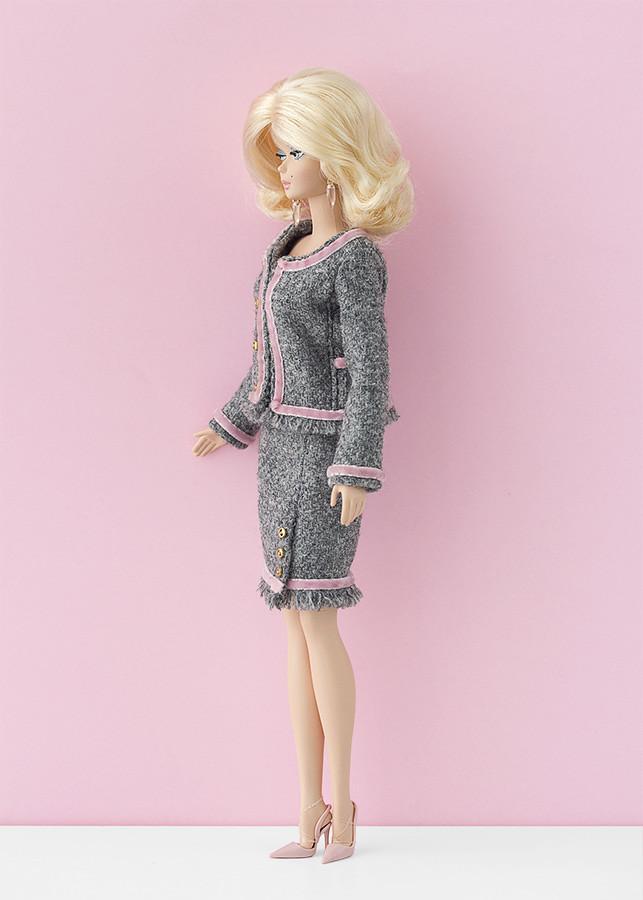 Tweed Barbie