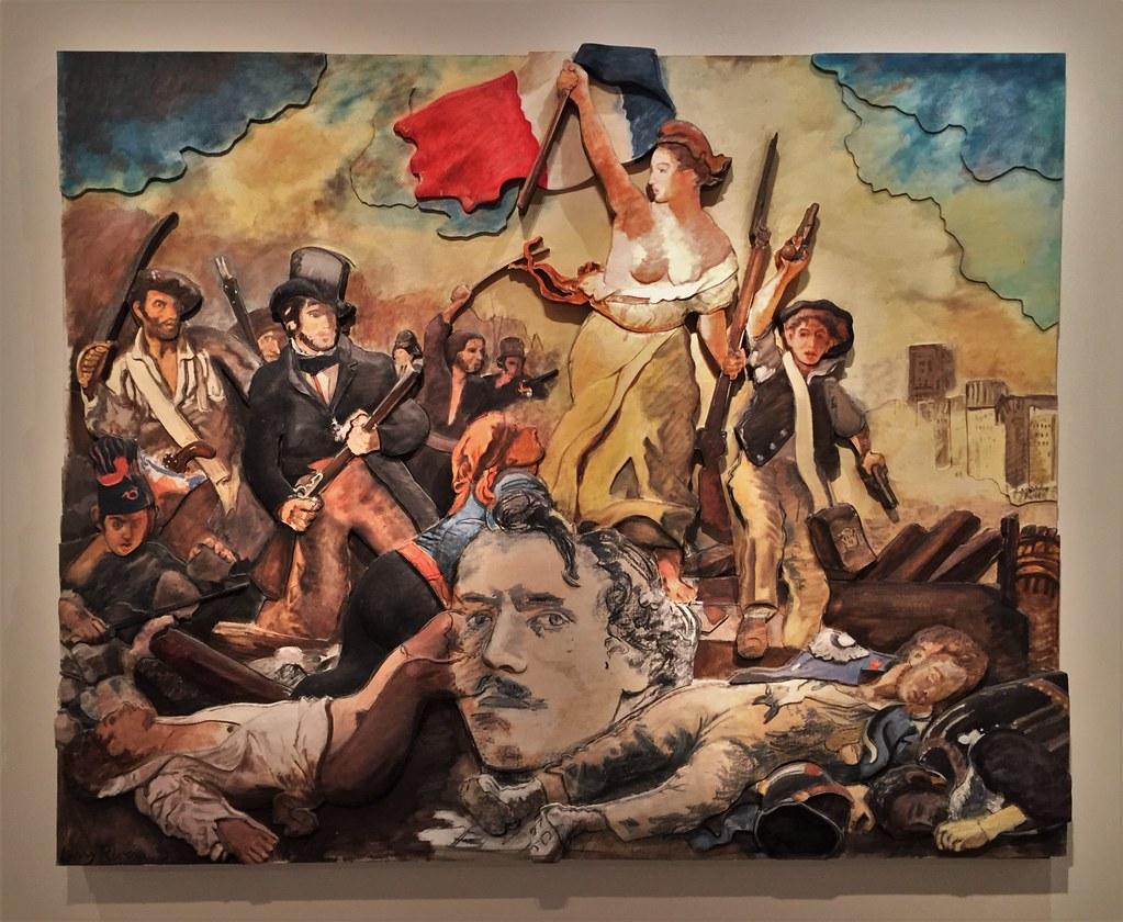 Delacroix 1830 Chaos And Purpose Larry Rivers 1993