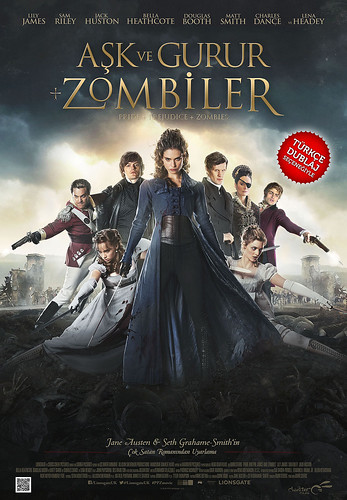 Aşk ve Gurur + Zombiler - Pride and Prejudice and Zombies (2016)