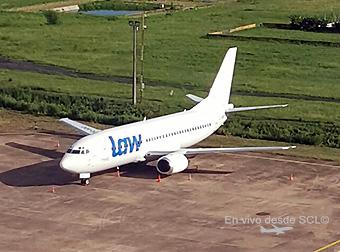 LAW B737-300 CC-AIT (AeronauticaPY)
