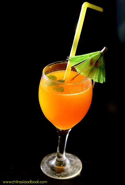 Orange mocktail