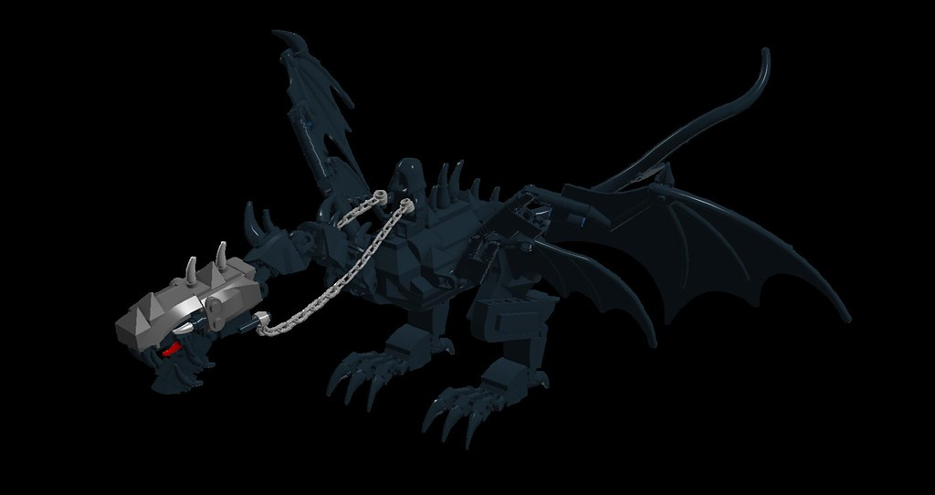 Lord Of The Rings Deluxe Poseable Fell Beast