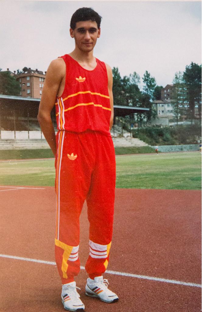 Juan Puerta Valiente en la Selección Española. Foto 029.