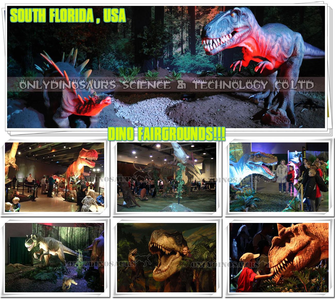 Dinosaur Exhibition in South Florida