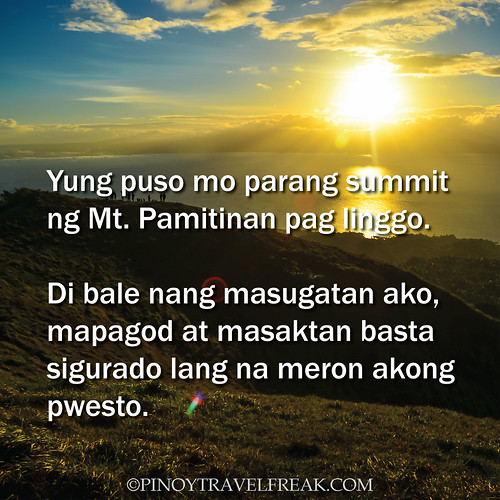 Pinoy Travel Freak: 80 #TravelHugot Lines from Travelers