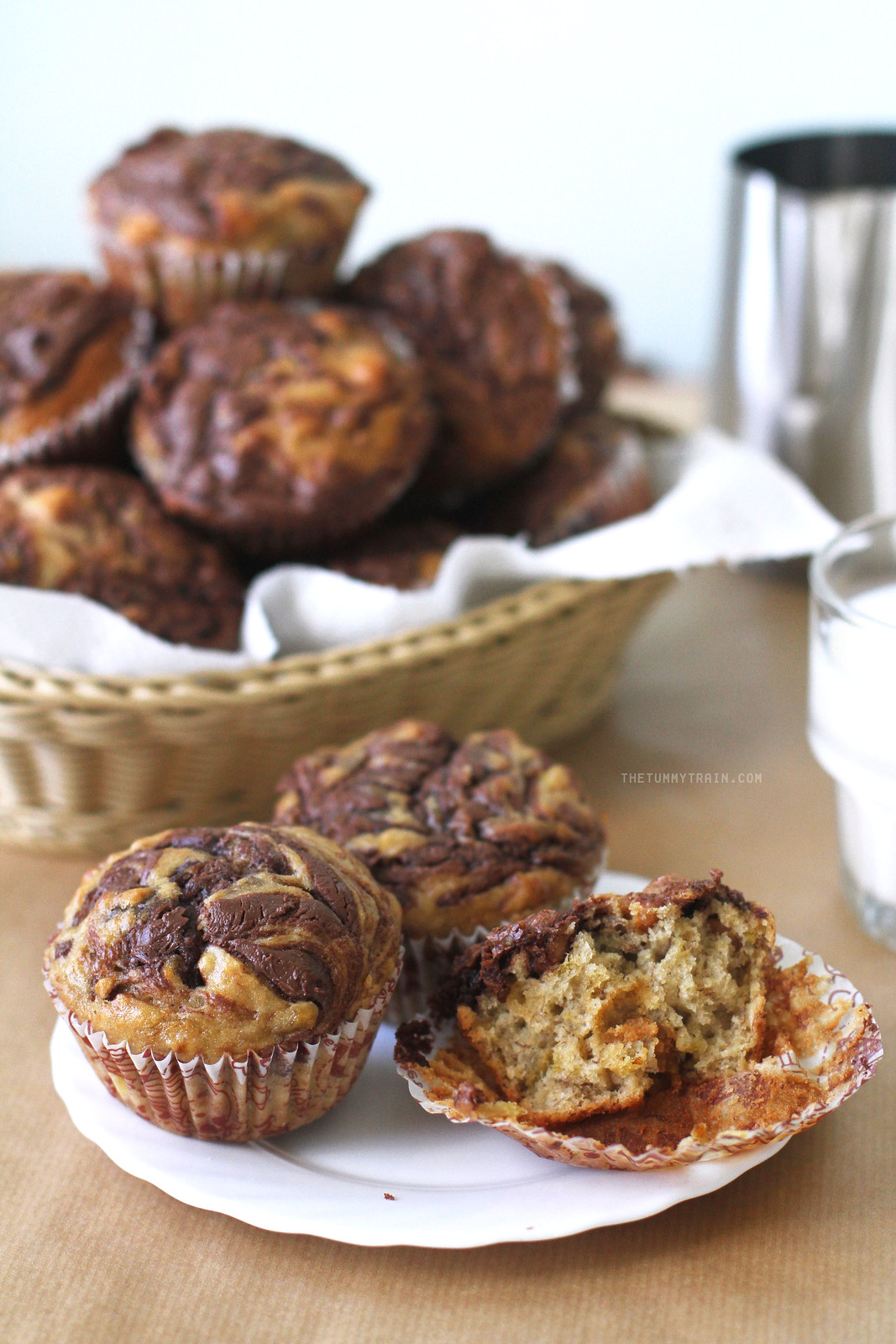 24787566746 604ec3237a h - Muffins with a crown of Nutella for World Nutella Day this year [VIDEO]
