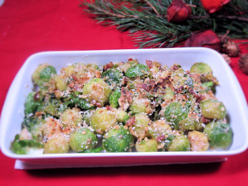 sprouts with parmesan