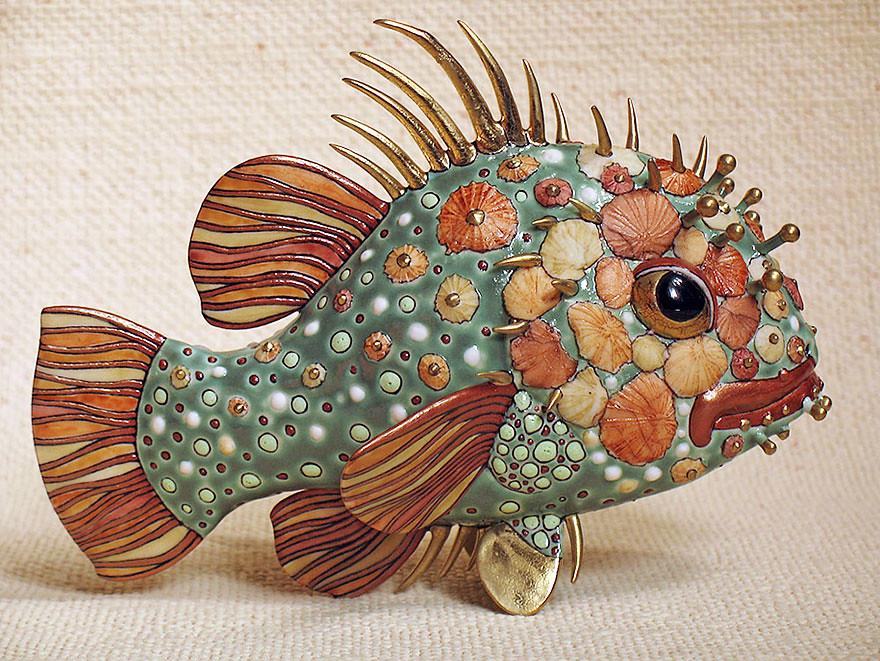 Fairytale Porcelain Creatures by Anya Stasenko and Slava Leontyev