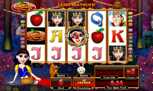 free Fairest of Them All free spins feature