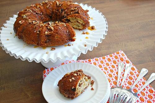 Krusteaz Crumb Cake In Bundt Pan