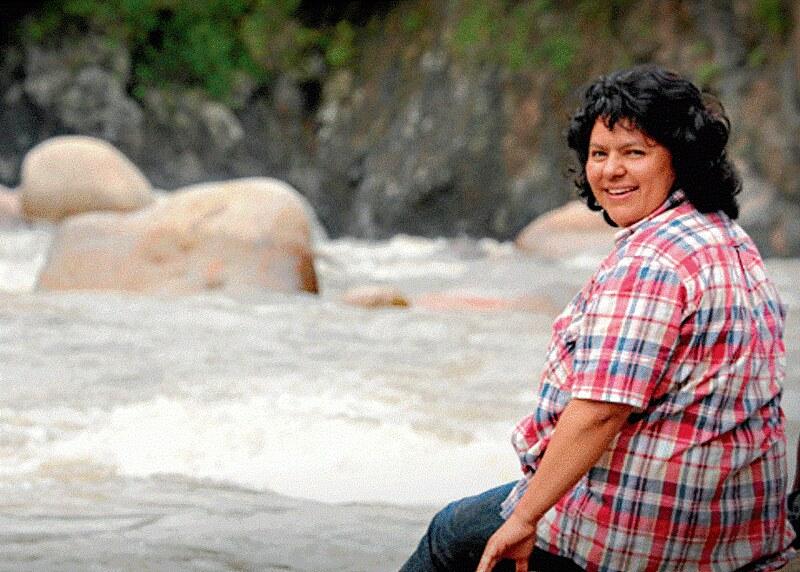 2015年環保金人獎得主:Berta Cáceres 。圖片來源:Prachatai。CC BY-NC-ND 2.0