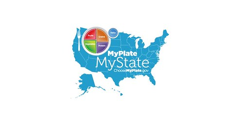 MyPlate, MyState graphic