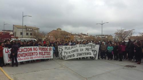 AionSur 25657556343_8ddf581972_d La huelga en la comunidad educativa de El Saucejo se mantendrá de manera indefinida Provincia