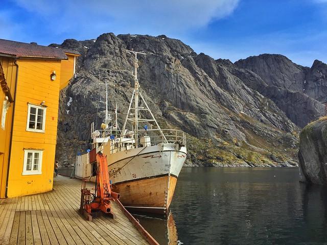 Nusfjord (Islas Lofoten, Laponia Noruega)