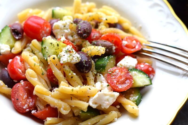 grekisk pastasallad