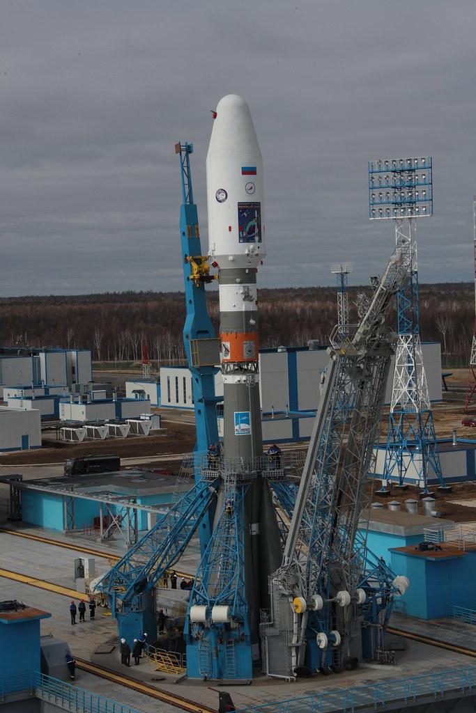 стартовый комплекс ракеты союз